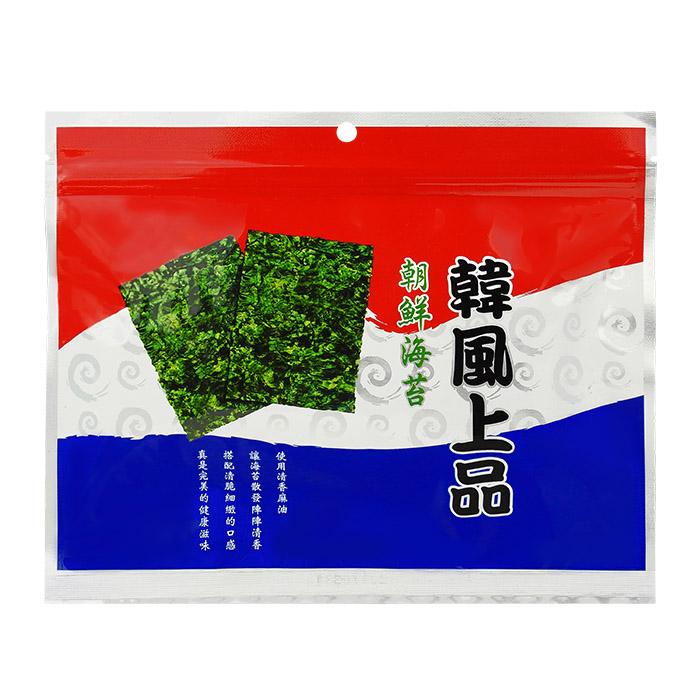 韓風上品 朝鮮海苔 50g 進口/團購/零食/餅乾【REJE851C】