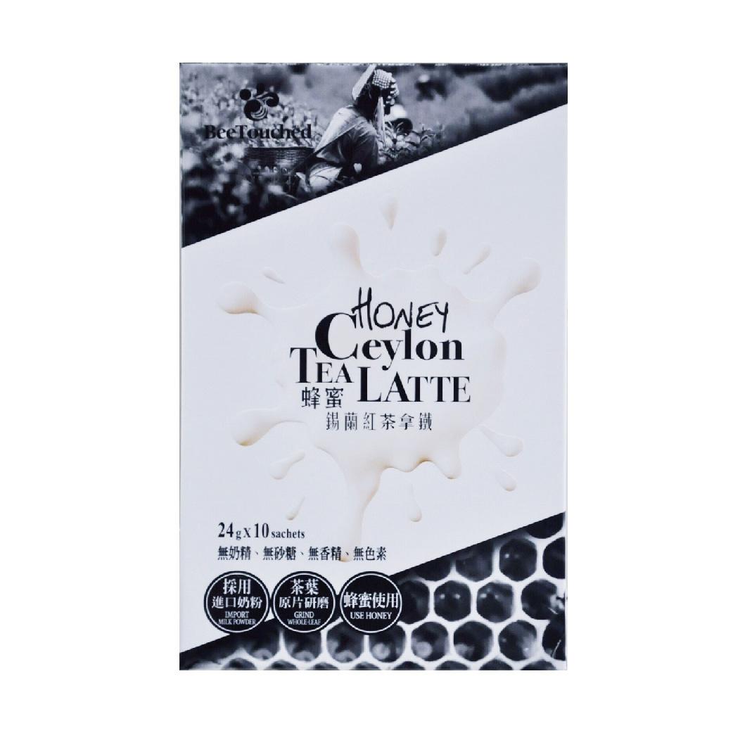 [蜜蜂工坊] 蜂蜜錫蘭紅茶拿鐵 (10包/盒)