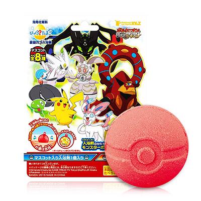 日本 神奇寶貝XYZ入浴球(含吊飾1個) 75g 泡澡球隨機出貨不挑款/色【RJJE882C】