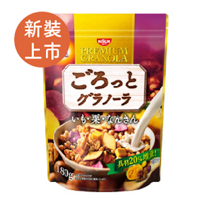 [日清 Nissin] 地瓜栗子南瓜穀物麥片(200g/包)(有效期限:2017.06初)