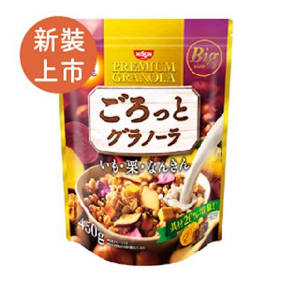 [日清 Nissin] 地瓜栗子南瓜穀物麥片(500g/包)