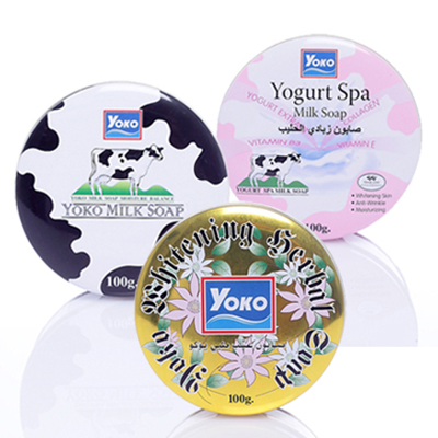 YOKO 優果 精美鐵盒包裝 天然SPA潔膚皂100g 共三款【ROYO007C】