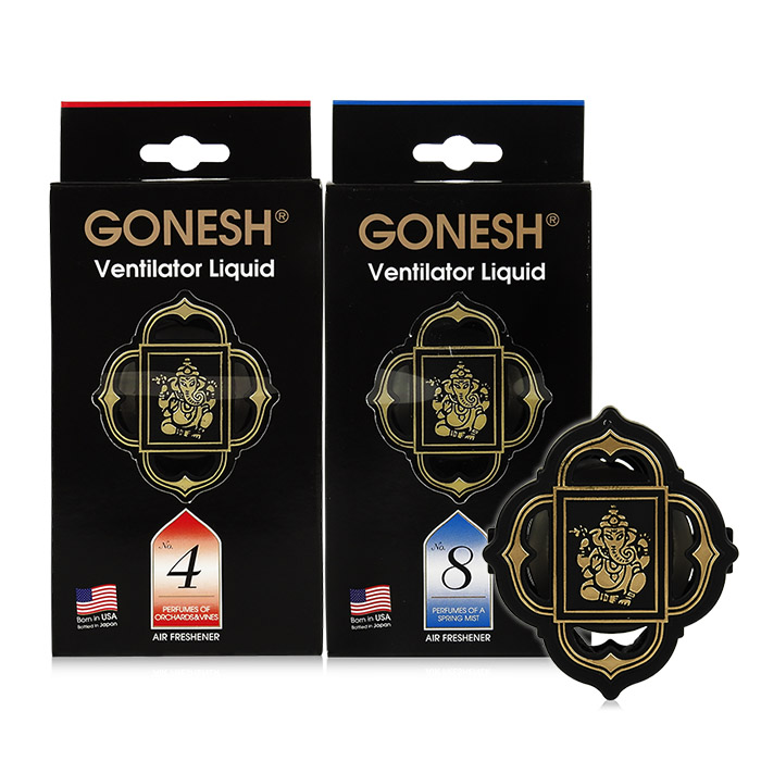 GONESH 冷氣出風口專用迷你芳香劑 2.6mL 8號春之薄霧/4號藤蔓果園【RAGS016C】