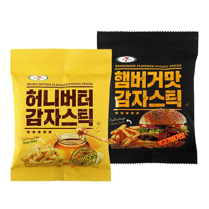 韓國 SEVEN(7-11) 限定 超人氣零食厚切脆薯條 54g 進口/團購/零食/餅乾【REJE871C】