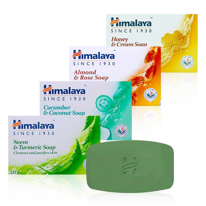 印度 Himalaya 喜馬拉雅 保濕香皂 125g 四款可選【ROJE153C】