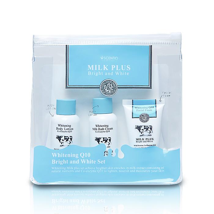 泰國 SCENTIO 牛奶美白旅行組 洗面乳/沐浴乳/身體乳【RTSC026C】