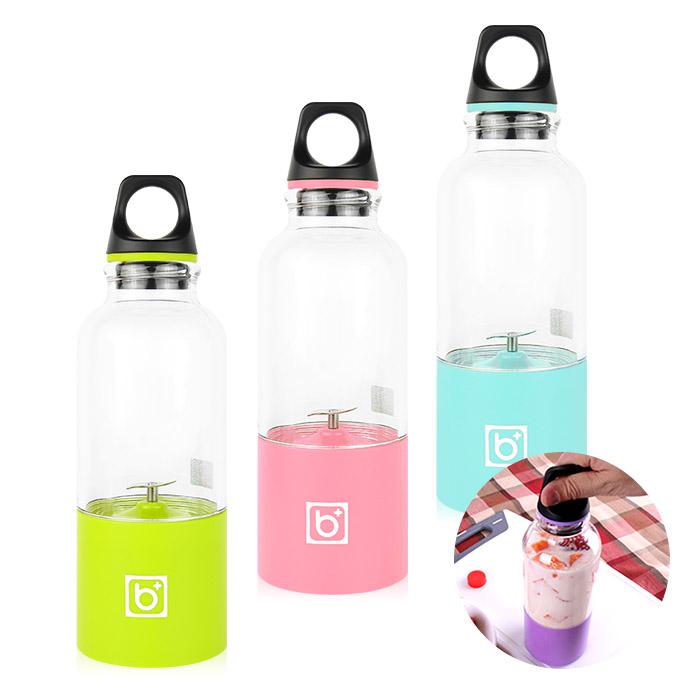 USB充電 可攜式電動果汁機 乙台入 三色可選【ROLI405C】