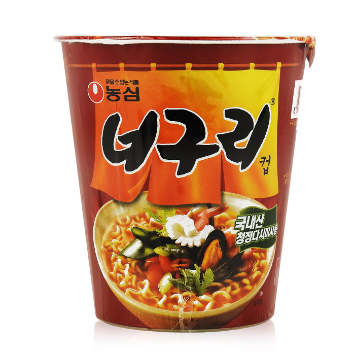 韓國 農心 昆布海鮮味杯麵 62g 香辣/團購/泡麵/沖泡【REJE899C】