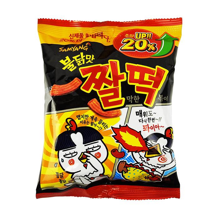 【任選2件98】韓國 SAMYANG 火辣雞肉風味年糕餅乾 120g 進口/團購/零食/餅乾【REJE878C】