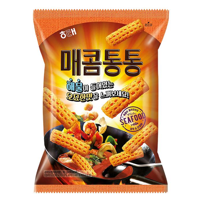 韓國 HAITAI 海太 咚咚餅 80g 炒海鮮風味/團購/零食/餅乾【REJE903C】