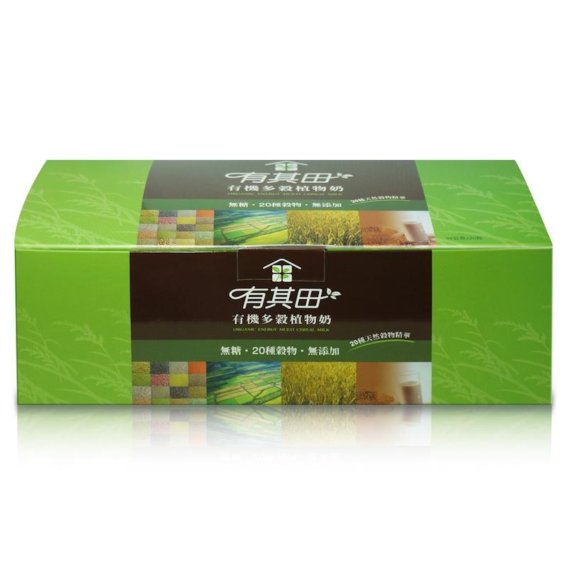 [有其田] 有機無糖多穀植物奶-隨身包 20 包 (30g/包)