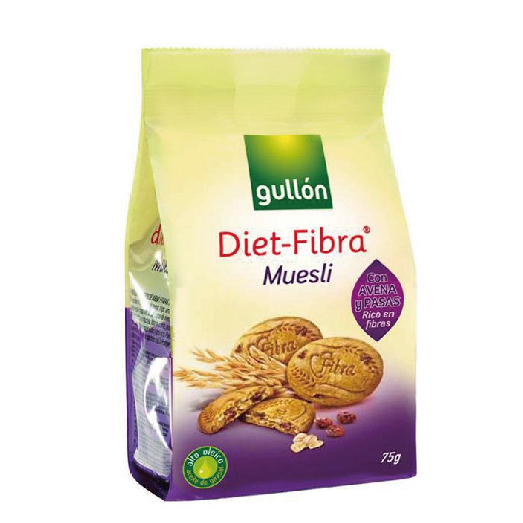 [西班牙Gullon榖優] 迷你多穀物餅乾 (75公克/包)
