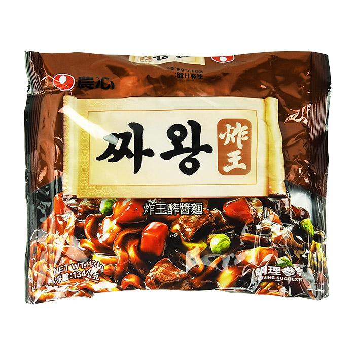 韓國 農心 炸王 醡醬麵/炸醬麵 134g 單包入 進口/團購/泡麵/沖泡【REJE908C】