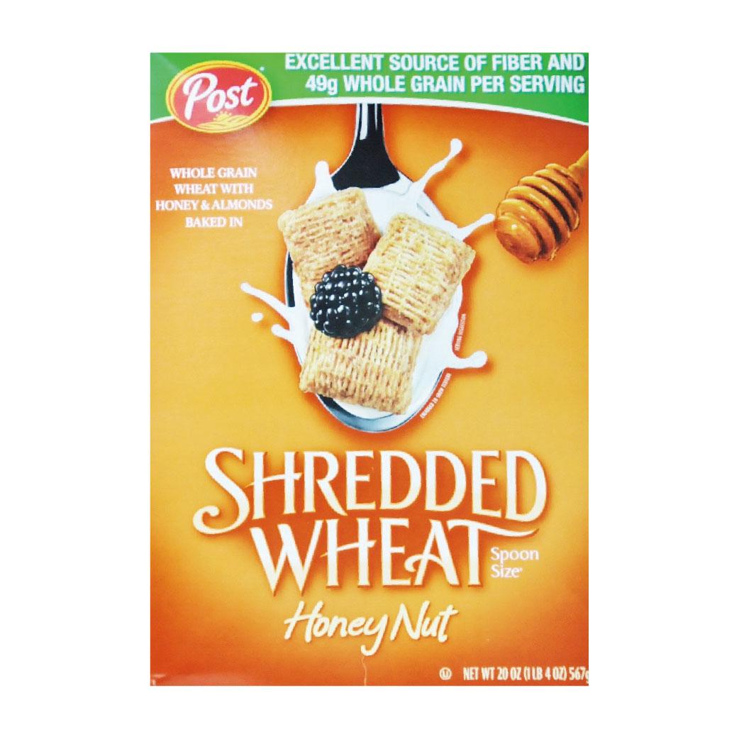 (售完)[美國POST] 蜂蜜堅果小麥穀枕 (567g/盒)