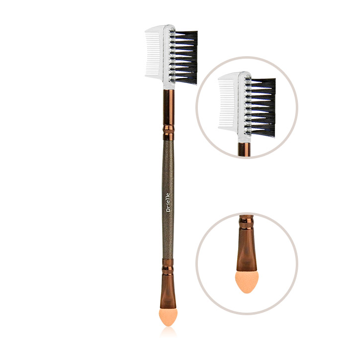 Drielle 朵艾莉 專業系列刷具 雙頭眼睫筆 乙支入【ROCO193C】