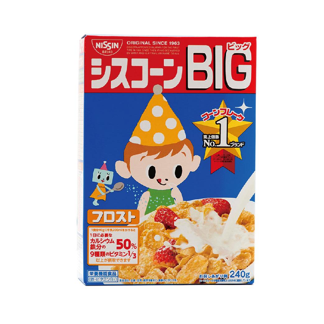 [日清 Nissin] 糖霜早餐餅 (80g/盒)(有效期限:2017.10)