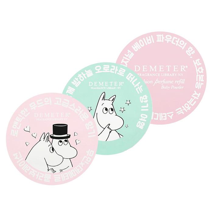 韓國 氣墊香水補充包 2.5g 嚕嚕米限量聯名/多款可選【ROKA118C】