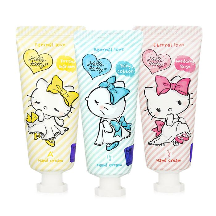 韓國 ATEX Hello Kitty 永恆愛戀護手霜 35mL 三款可選【ROKA082C】