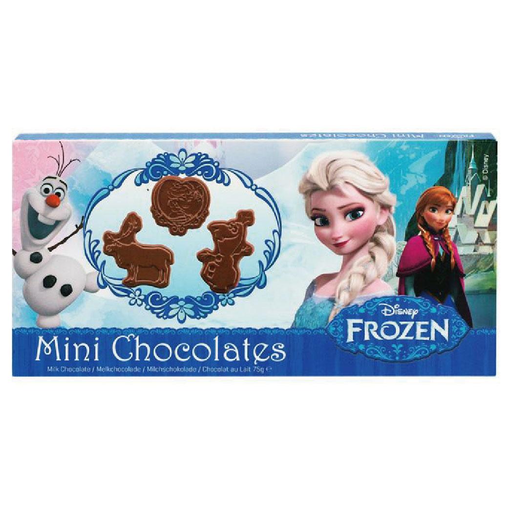 (售完)[冰雪奇緣] 人物造型牛奶巧克力 (75g/盒)