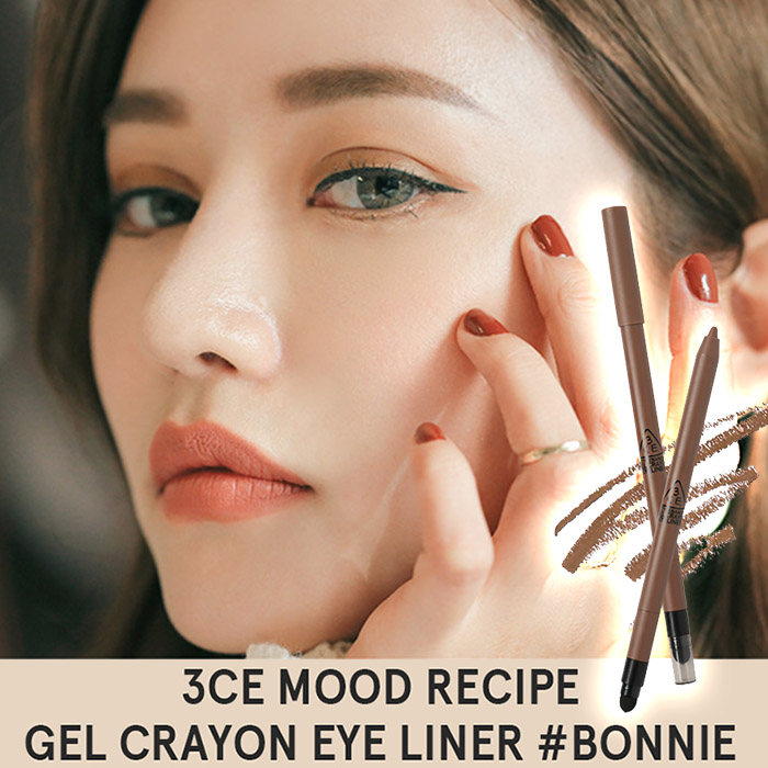 韓國 3CE(3CONCEPT EYES) MOOD RECIPE 眼線膠筆 0.4g BONNIE【RKST180C】