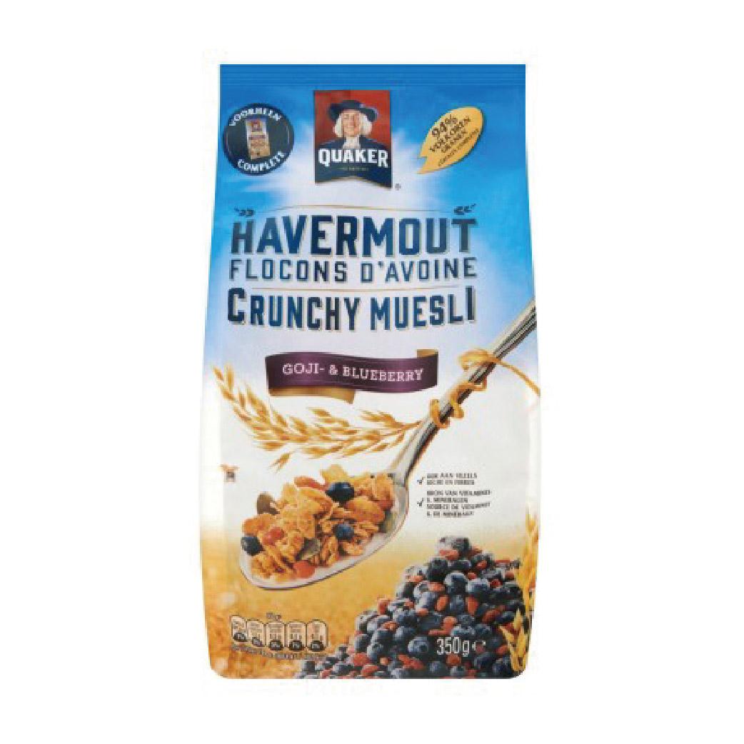 [Quaker] 藍莓枸杞燕麥脆片 (350g/袋)