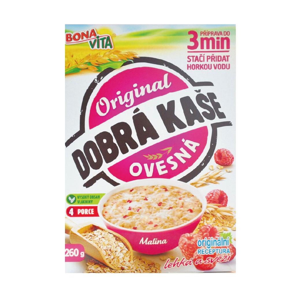 [捷克 Bonavita] 覆盆莓燕麥粥(200g/盒)