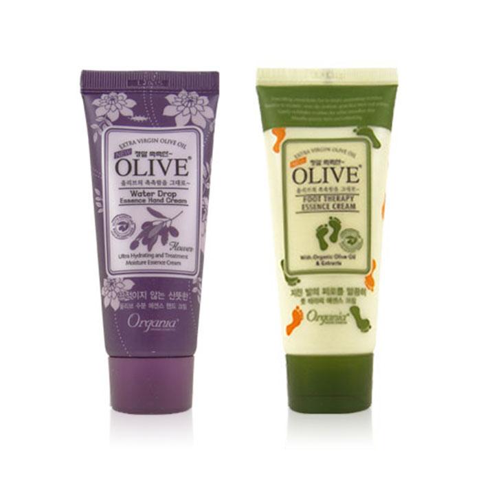 韓國White Cospharm Olive橄欖保濕護手霜/護足霜/WELCOS滋潤護手霜【ROKE199C】