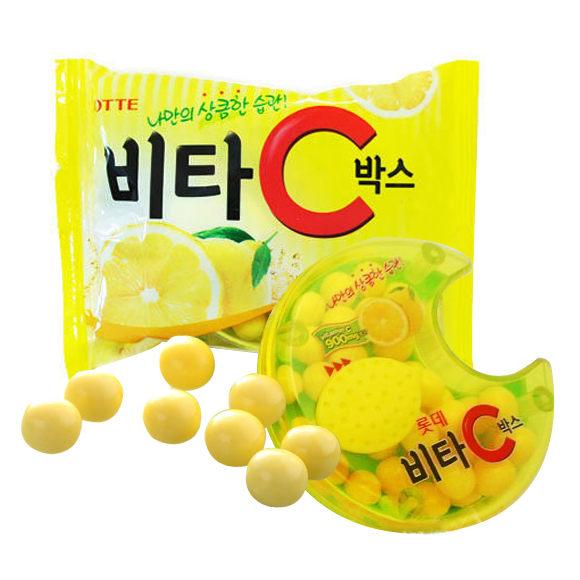 韓國 LOTTE 樂天 維他命C糖果【REJE143C】