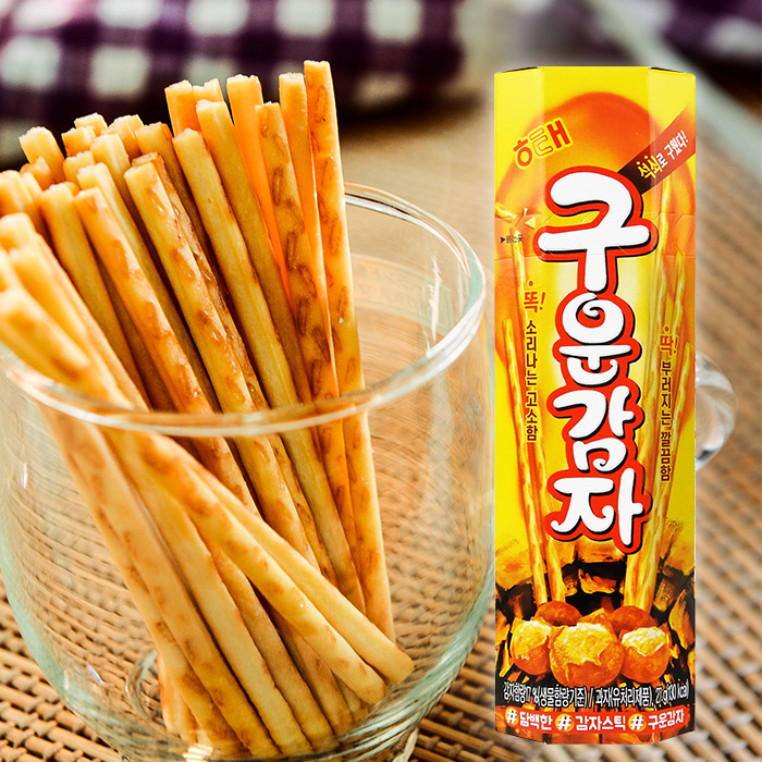 韓國 HAITAI 海太 烘焙馬鈴薯棒 27g/盒 (進口/團購/零嘴/餅乾)【REJE155C】