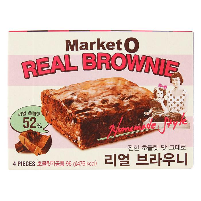韓國 Market O 布朗尼蛋糕(巧克力) 96g 進口/團購/零食/餅乾 【REJE148C】