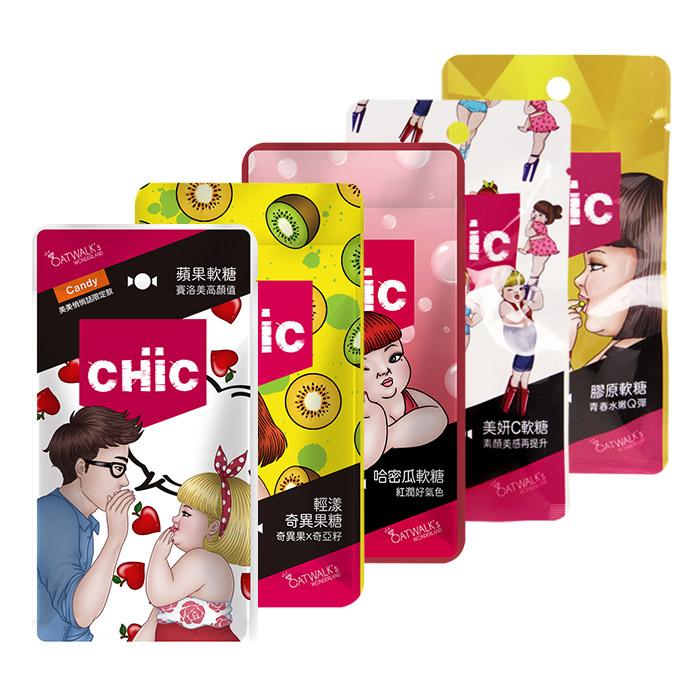 CHiC 膠原軟糖 一包入 名模推薦【REJE162C】名模愛不釋手! 時尚必備!素顏美感再提升!