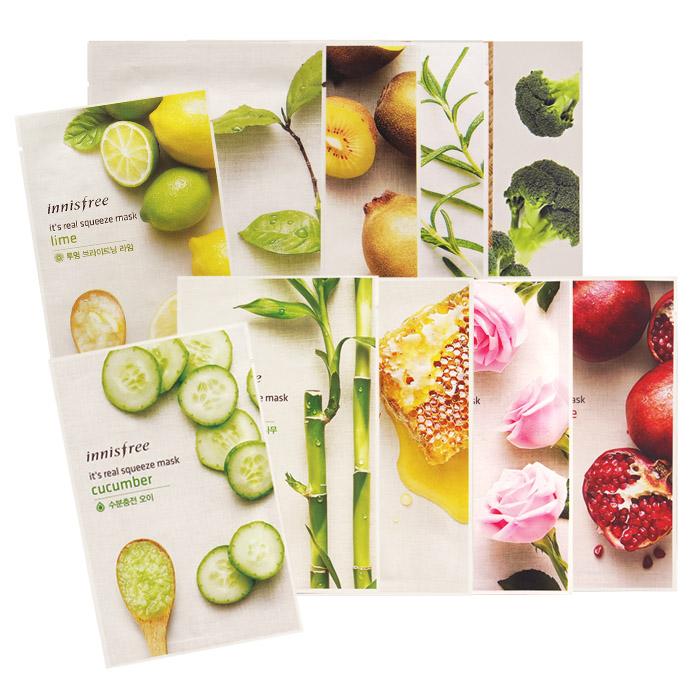 【任選3件99】韓國 innisfree 悅詩風吟 天然植物面膜 20mL 多款【RKIN023C】