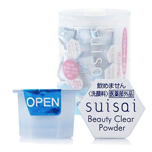 Kanebo 佳麗寶 suisai 酵素洗顏粉(藍) 0.4g╳5顆入【RJKA090C】