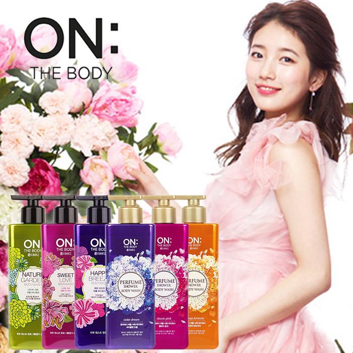 韓國 On The Body 香水有機沐浴露500mL多款人氣話題香氛沐浴【ROKE413C】