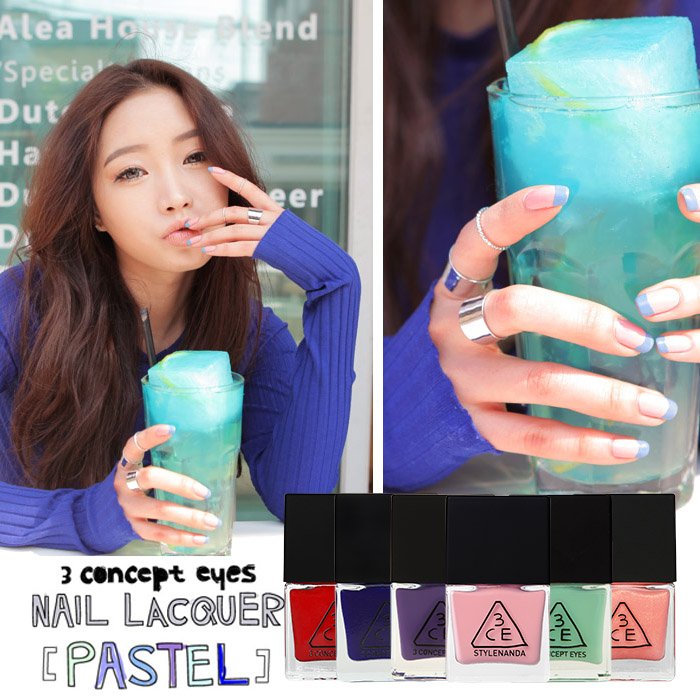 韓國3CE(3CONCEPTEYES)高飽合度超顯色指甲油10mL【RKST060C】