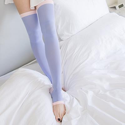 V.VIENNA微微安娜 睡眠紓緩纖腿襪 隨機出貨不選色【RBF0023C】