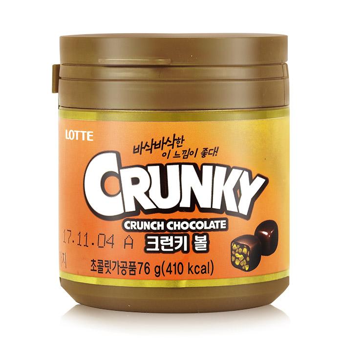 韓國 LOTTE 樂天 CRUNKY 米果骰子巧克力 乙入 進口/團購/零食/餅乾【REJE390C】