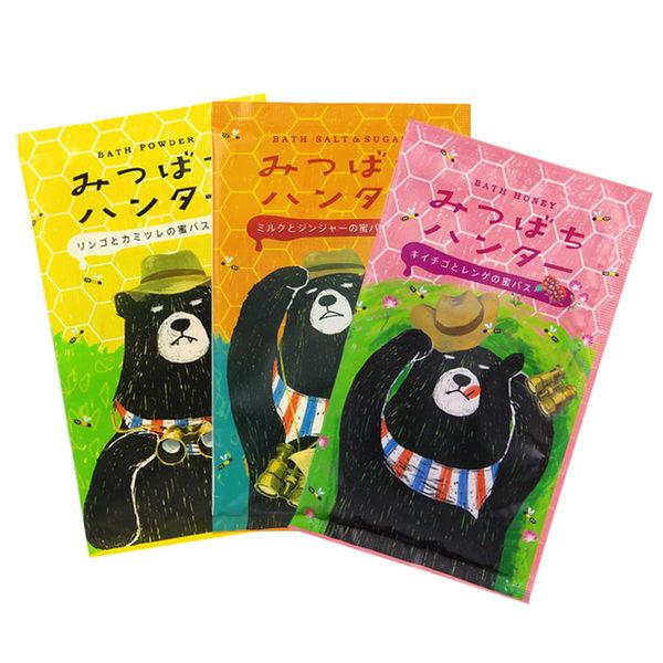 日本 CHARLEY 蜜蜂獵人 入浴劑 40g 蘋果洋甘菊/薑汁牛奶/覆盆紫雲英【RJJE659C】