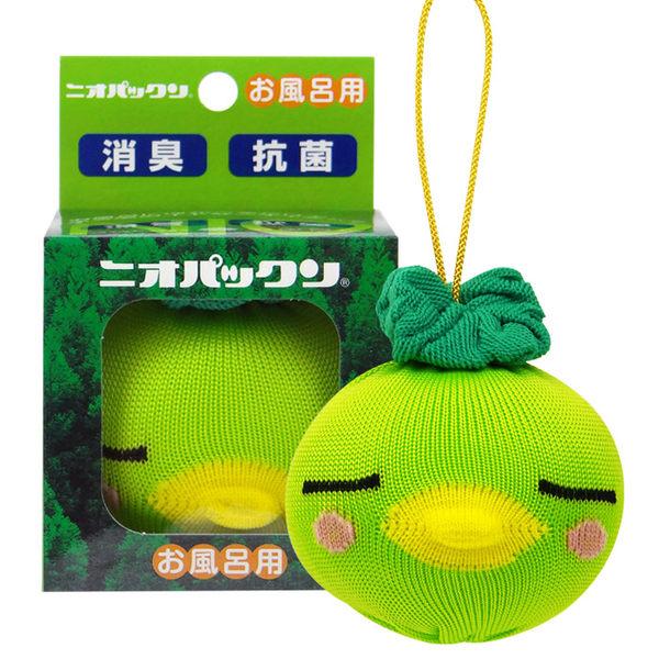 日本 惠川 可愛泡湯娃娃 泡澡系列(浴缸熱水消臭抗菌用) 乙入 綠娃娃【RJJE676C】
