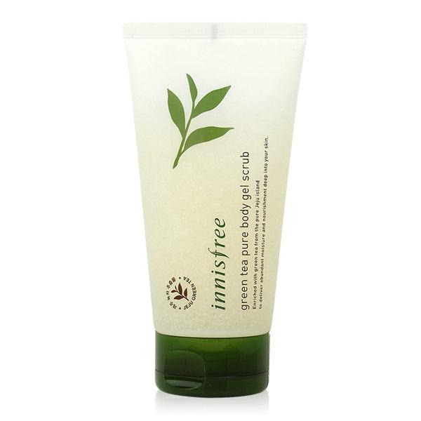 韓國 innisfree 綠茶有機身體去角質凝膠 150mL【RKIN034C】
