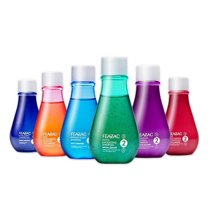 【任選2件86】Feazac 頭皮賦育洗髮素/護髮素輕巧瓶60g/即刻救援護髮素(免沖洗)30g【RTFZ003C】