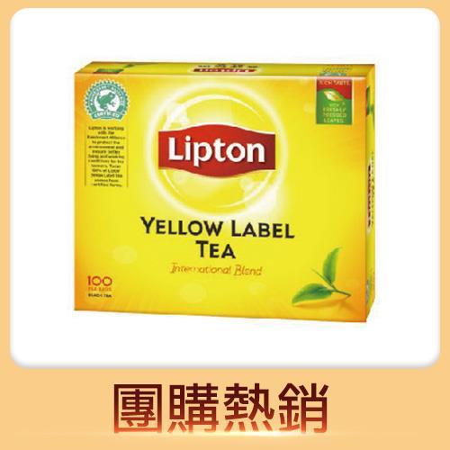 立頓黃牌 紅茶 100入