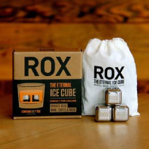 美國ROX Stainless不鏽鋼冰石_不會融的冰塊^(8入一組)