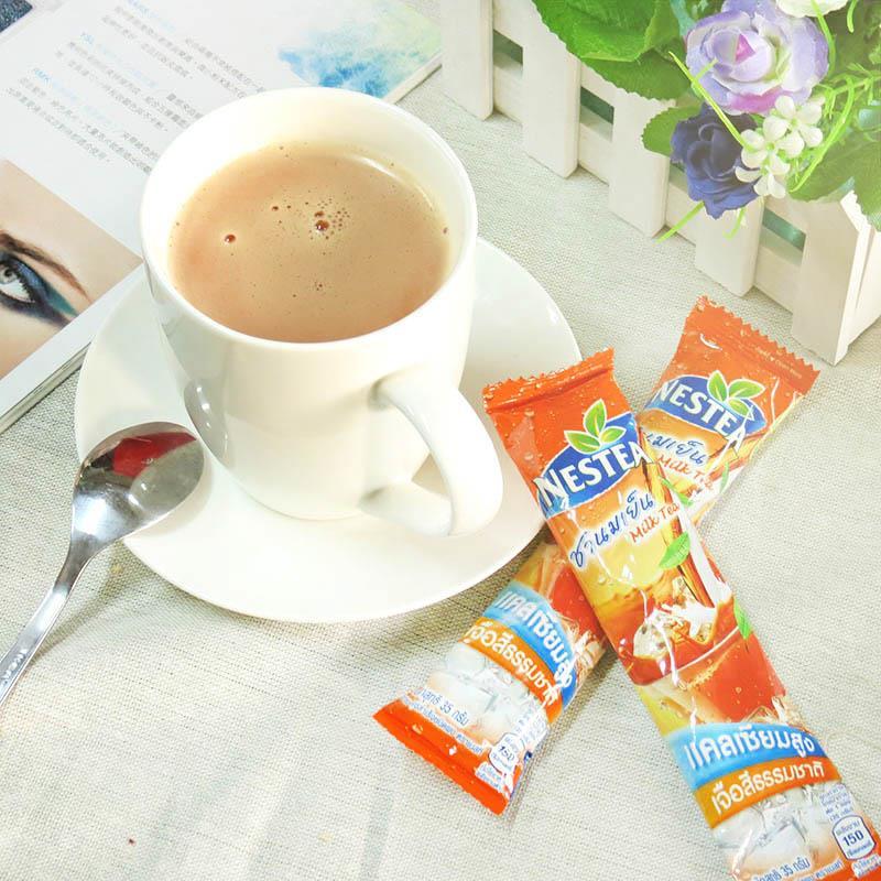 泰式奶茶自己泡! 要冰要熱 以! ~泰國雀巢NESTEA~泰式奶茶 35公克 包  5包入