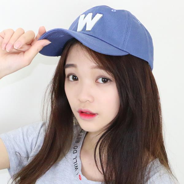 韓國明星同款拼貼字母鴨舌帽  衣櫃控~WardrobE  EE~A139