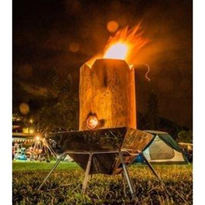 營火炬 柳杉製 P15706|露營|野營|Swedish Torch|Wood Rocke
