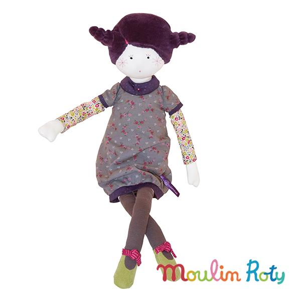 Moulin Roty紫髮女孩Madame Constance洋娃娃 642500