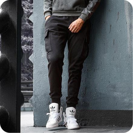 韓式作風 ~~RTJBK701~有加大 ,M~2L,美式側邊大口袋抽繩休閒長褲 二色
