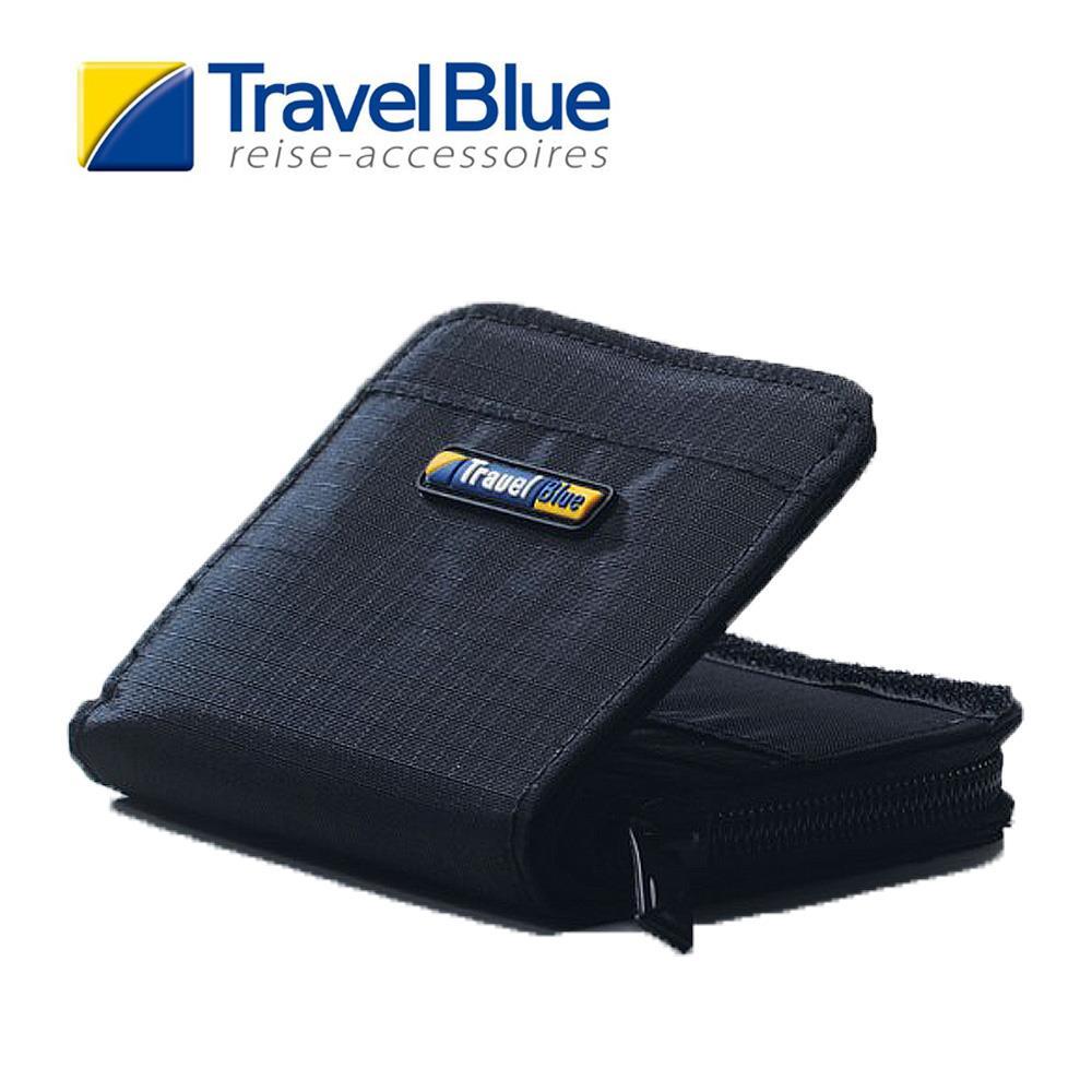 英國Travel Blue藍旅 MiniPurse迷你錢包 黑色 皮夾|卡夾|零錢包|短夾
