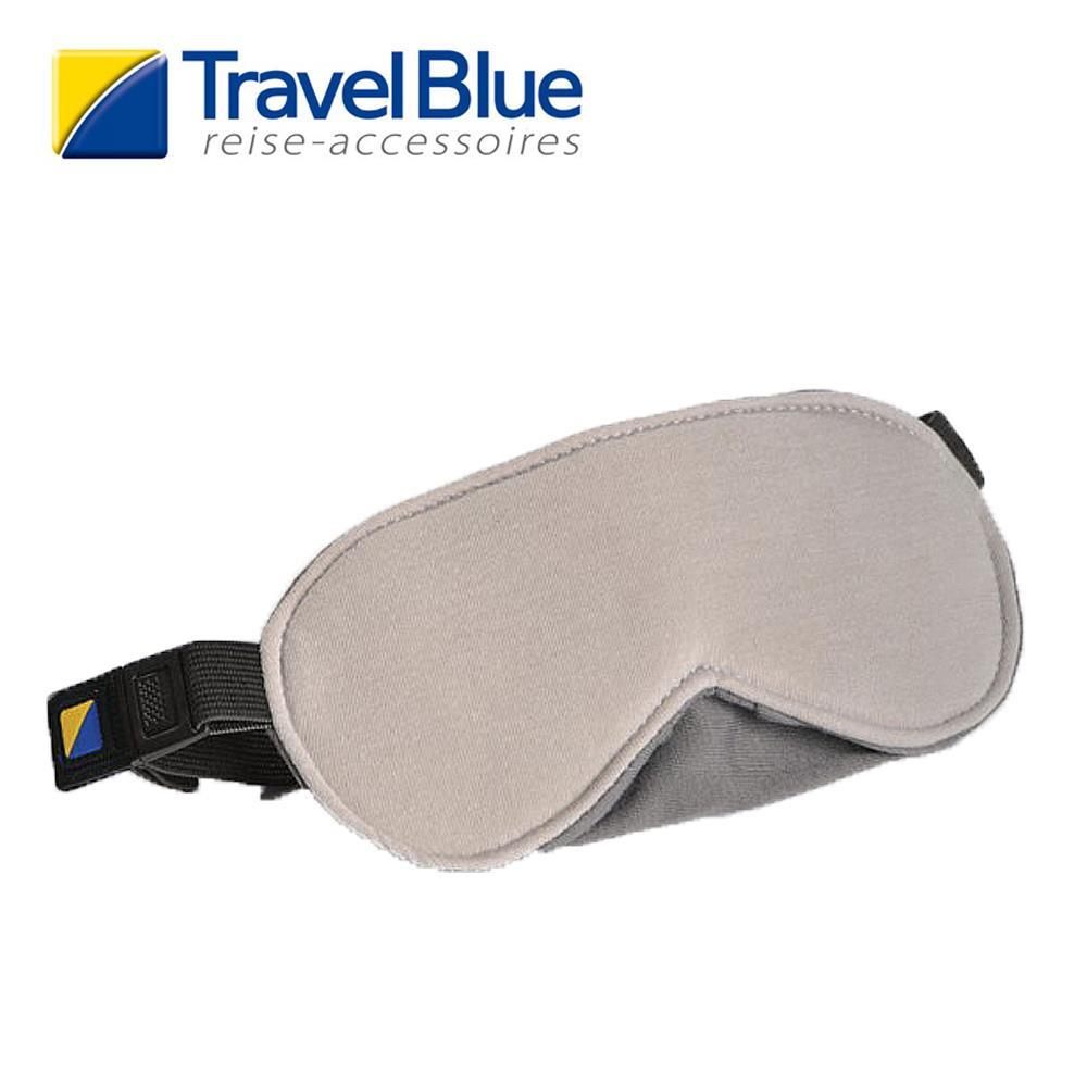 英國Travel Blue藍旅 LuxuryEyeMask 眼罩 淺灰色 TB453A 登